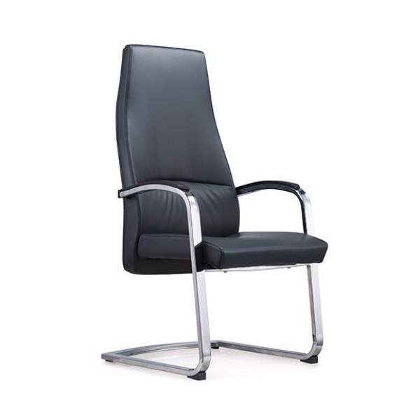 Y&F High Back PU/Leather Office Reception and Guest Chair with Metal Frame(YF-1822)