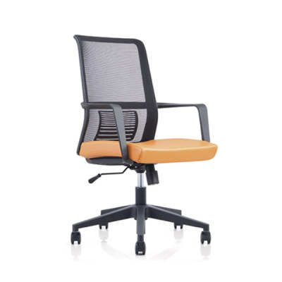 Y&F Middle Back Mesh Office Chair with PP Back Frame and Armrest,Nylon Base(YF-6628B)