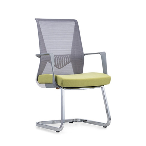Y&F Middle Back Mesh Office Conference Chair with PP Back frame and Armrest, Metal Base Frame (YF-16629WS)