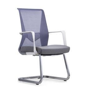 Chaise de conférence de bureau à dossier moyen Y&F avec accoudoir en PP et cadre en métal (YF-16629WS)