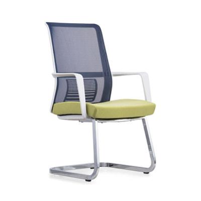 Chaise de conférence de bureau en maille à dossier moyen Y&F avec accoudoir en PP et cadre en métal (YF-16628W)