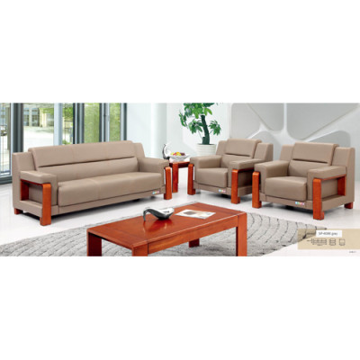Wholesale Modern PU Office Sofas, plywood base, 100% pure sponge (SF-6096)