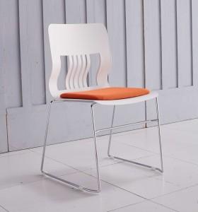 Chaise de formation empilable de bureau moderne Y&F avec coussin confortable (LY-BM1)