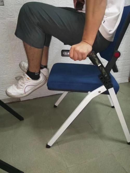 Silla de entrenamiento plegable de oficina moderna Y&F, tableta de aluminio con PP (LY-K1-D)