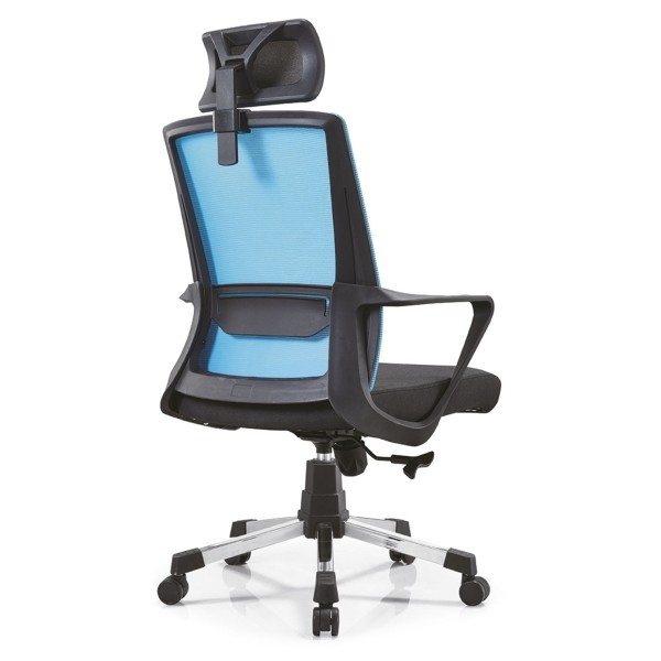 Y&F High Back Mesh Office Executive Chair,available in Nylon Base and Chrome Base, with Headrest(YF-A15)