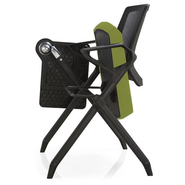 Chaise de formation pliable de bureau Y&F avec tableau d'écriture (YF-D10)