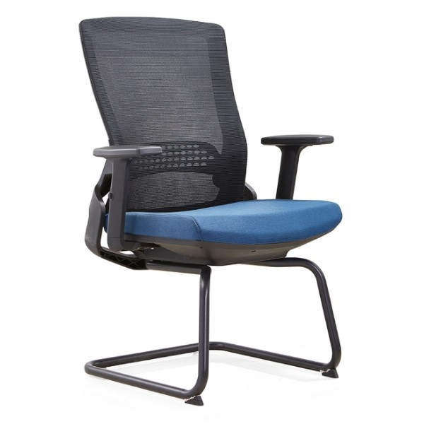 Y&F Office Visit Chair with 50D mould sponge, metal frame. (YF-D35-2)