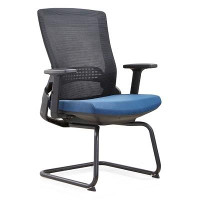 Y&F Middle Back Office Visit Chair avec éponge de moule 50D, structure en métal (YF-D35-1)