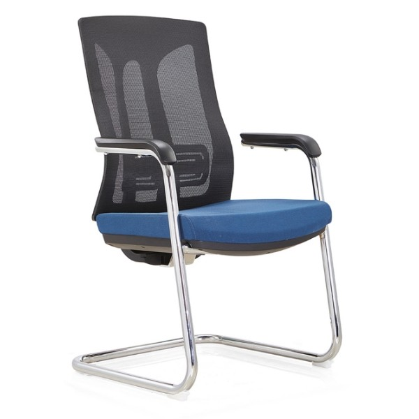 Y&F Middle Back Office Meeting Chair with  PA back frame and Metal frame, PU armrest. (YF-C30-1)