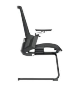 Chaise de conférence Y&F Mid-Back Office avec support lombaire, accoudoir en alliage d'aluminium 4D (YF-D33)