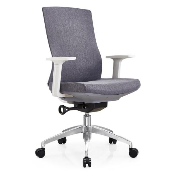 Chaise de bureau Y&F avec dossier en aluminium et accoudoir en PP (YF-B30)