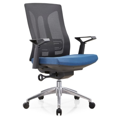 Y&F Mid-back mesh Executive Chair with alumnium base and nylon height adjustable armrest(YF-B30-2)