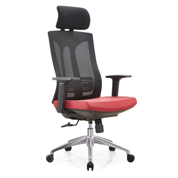 Y&F High Back Office Mesh Executive Chair with Aluminum/Nylon Base and PP Armrest(YF-A30-1)