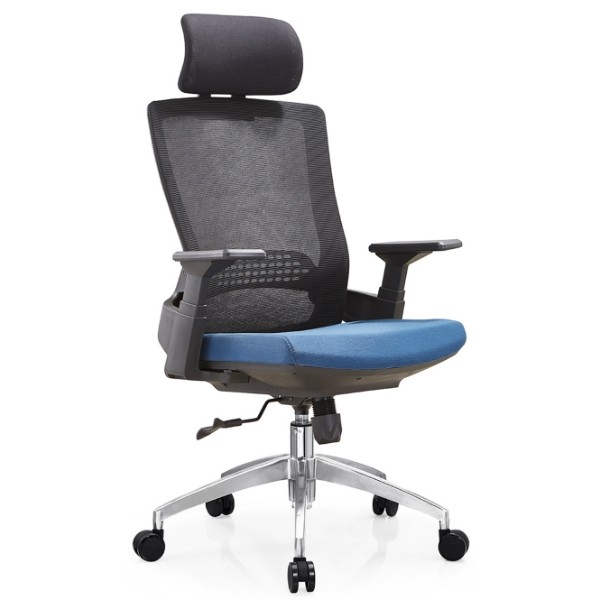 Y&F High Back Executive Chair with aluminum base and PP armrest(YF-A32)