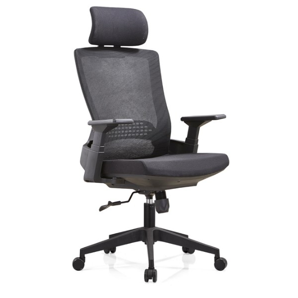 Y&F High Back Executive Chair with nylon base and PP armrest(YF-A32)