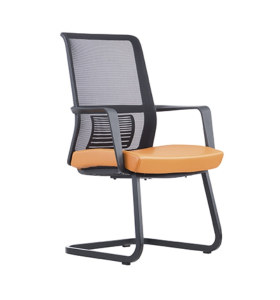 Middle Back Mesh Office Conference Chair with PP Armrest and Metal Frame (YF-16628B-1)