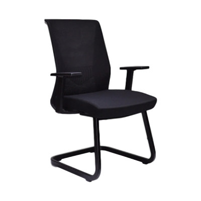 Y&F Mid-Back Mesh Office Conference Chair with PP Armrest and Metal Frame (YF-16630B-1)