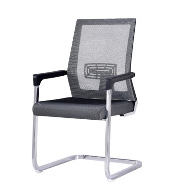 Middle Back Mesh Office Visit Chair with mesh seat and back, chrome base (YF-A-105)