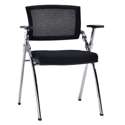 Modern Office Foldable Training Chair, Mesh Seat And Back, Metal With Powder Coating.(YF-A-113-1)
