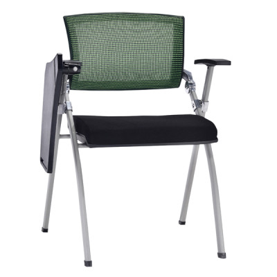 Modern Office Foldable Training Chair with Writing Board, Mesh Seat And Back, Metal With Powder Caoting.(YF-A-113-2)