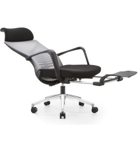High back mesh office Reclining chair with ergonomic and rotating design(YF-A61)