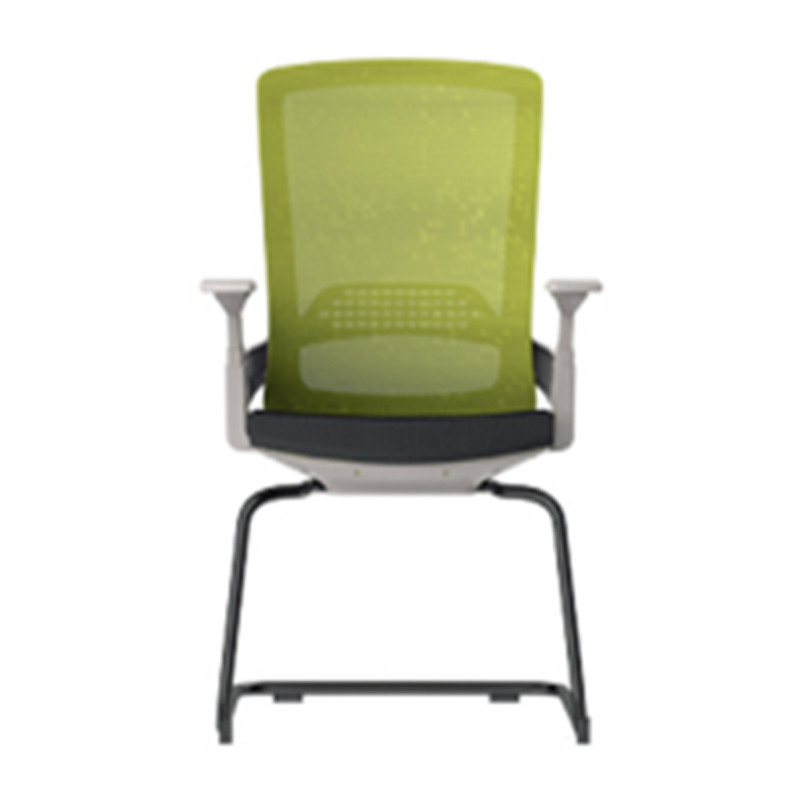 Y&F Middle Back Office Meeting Chair with 50D mould sponge, Metal frame (YF-D32-White)