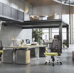Silla ejecutiva de malla de oficina con respaldo alto con marco de respaldo de PP, reposabrazos de PP y base de nylon (YF-A12)