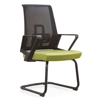 Middle Back Mesh Meeting Chair with PP armrest,mesh fabric,painting base(YF-C12)