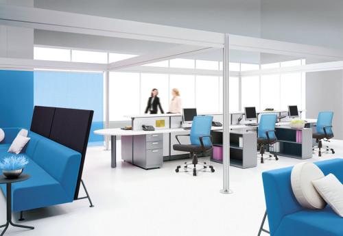 Silla de malla de oficina con respaldo medio con marco trasero de PP, reposabrazos de PP y base de nailon (YF-B15)
