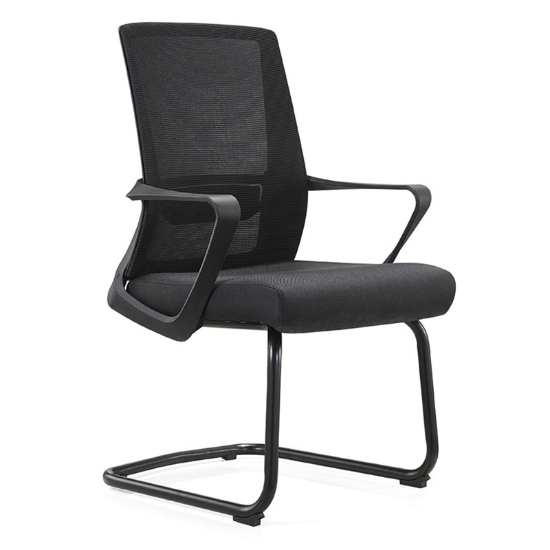 Middle Back Mesh office chair with painting base and PP armrest(YF-C15)