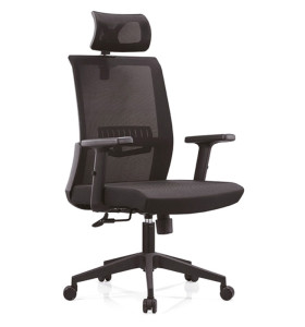 High Back office Mesh Executive Chair with PP Back Frame,PU Armrest and nylon Base(YF-A16)