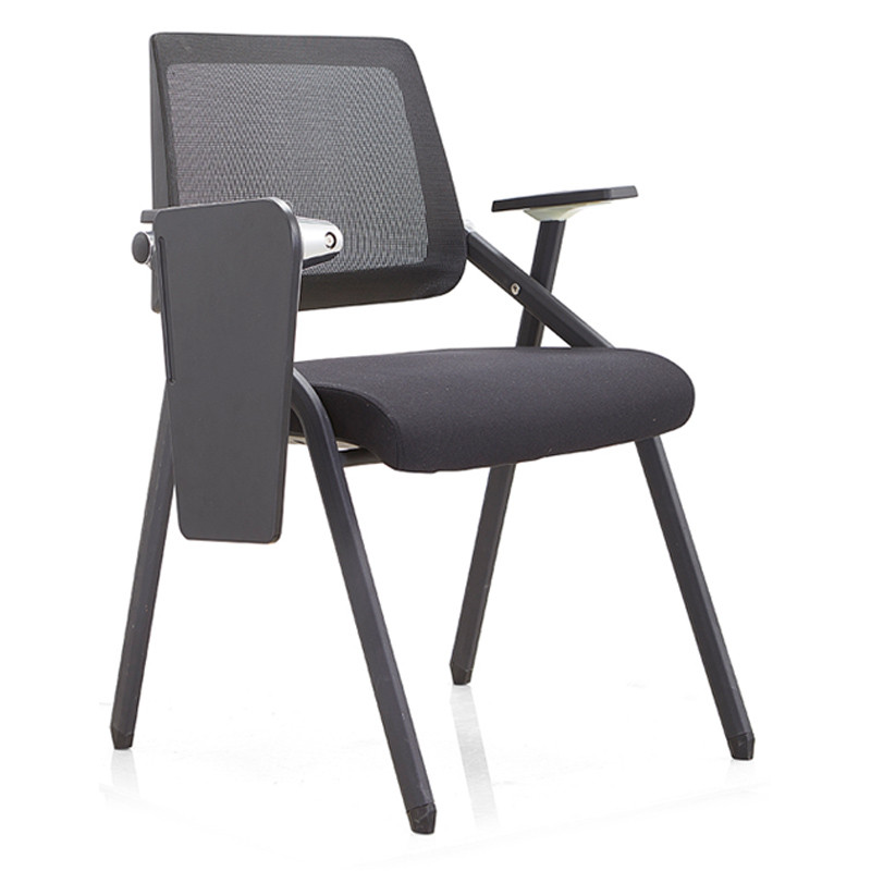 Office Foldable Training Chair With Writing Board,PP Back,Nylon Armrest(YF-913)