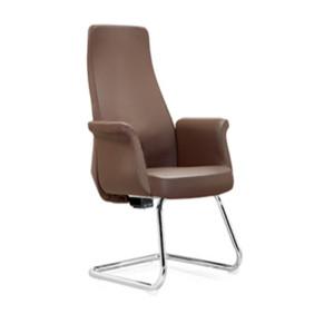 High Back PU Executive Office Chair with aluminum armrest, chrome base.(YF-C38)