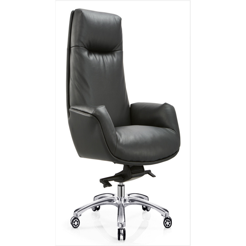 High Back Big and Tall PU/Leather Office Executive Chair,aluminum base(YF-A50)