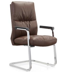 Wholesale High Back PU/Leather Executive Office Chair,PP Armrest,chrome base(YF-C11)
