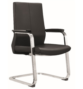 Middle Back PU/Leather Guest Chair for Executive Office and Reception Room(YF-C05)