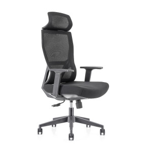 High Back office Mesh Executive Chair with Nylon base,PP Armrest(YF-GA15)
