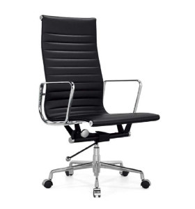 Wholesale High Back PU/Leather Office Executive Chair, Aluminum alloy armrests(YF-A968A-2)