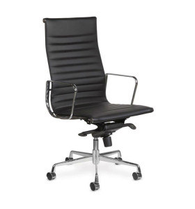 Wholesale High Back PU/Leather Office Executive Chair, Aluminum alloy armrests(YF-A968A-2H)