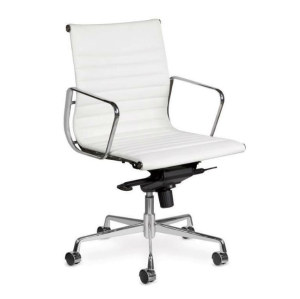 Wholesale Middle Back PU/Leather Office Executive Chair, Aluminum alloy armrests(YF-B968B-2H)