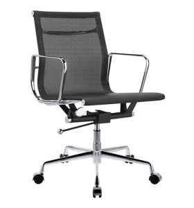 Middle Back office Mesh Executive Chair With Aluminum Alloy Armrest(YF-B968B-1)