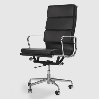 Wholesale High Back PU/Leather Office Executive Chair, Aluminum alloy armrests(YF-968A-3)