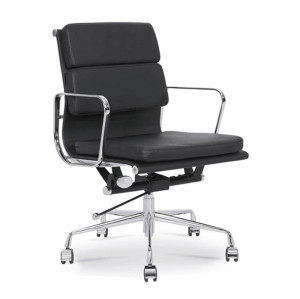 Wholesale middle Back PU/Leather Office Executive Chair, Aluminum alloy armrests(YF-B968B-3)