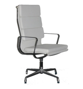 Wholesale High Back PU/Leather Office Executive Chair, Aluminum alloy armrests(YF-A968C-3)