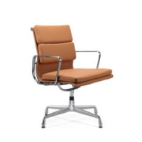 Wholesale High Back PU/Leather Office Executive Chair, Aluminum alloy armrests(YF-B968D-3)