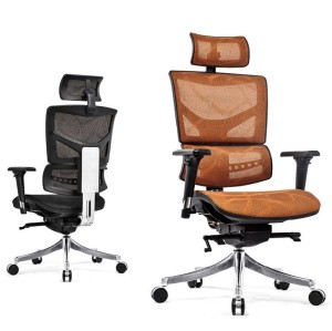 High back mesh office Reclining chair with ergonomic and rotating design(YF-A9)