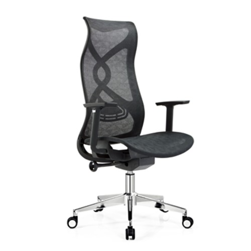 High back mesh office Reclining chair with ergonomic and rotating design(HZM-A230)