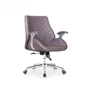 Wholesale Modern Leather Executive Staff Office Chair With Armrest (YF-A390)