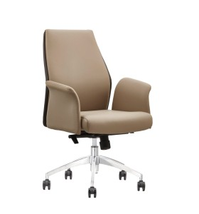 Wholesale Ergonomic Leather Office Visitor Chair(YF-B070)