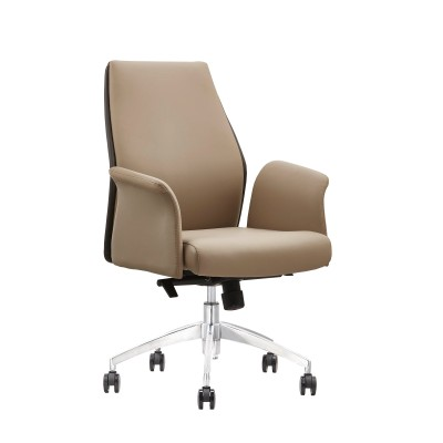 Wholesale Ergonomic Comfortable Leather Office Visitor Chair(YF-B070)